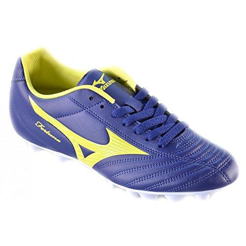 Mizuno - Mizuno Zapatos de Fútbol Azul Amarillo Fortuna Md Football 148112 - Blu, 40,5