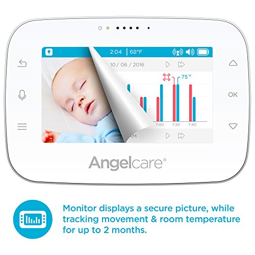 Angelcare Baby Movement Monitor With 4 3 Quot Touch Control