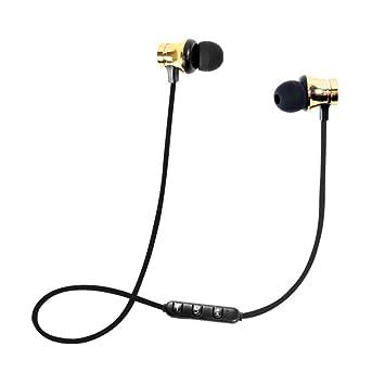 Y56 magnético inalámbrico Bluetooth inalámbrico Estéreo Auriculares Kopfhöre Auricular in-Ear magnética Sports Estéreo de