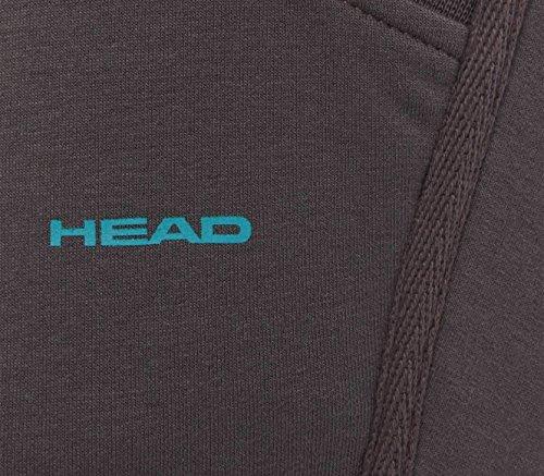 Head - Pantalon coupe 3/4 pour femmes (gris) - L