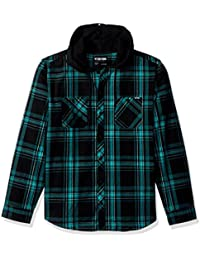 Men's Bailey Hooded Long Sleeve Woven
