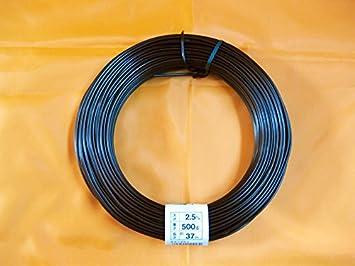 Cable-aluminio recubierto de cobre 5 mm de bonsai, 500 g, 9 m
