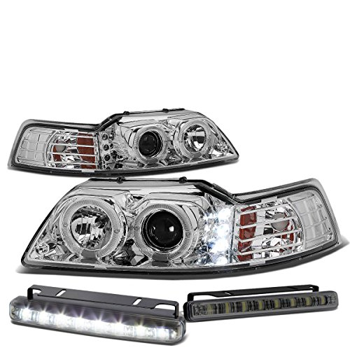 99 mustang halo headlights - 6