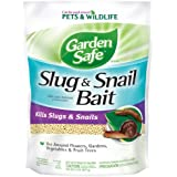 Garden Safe 4536 Slug & Snail Bait (HG-4536) (2 lb), Case Pack of 1, Brown/A