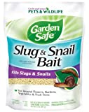 Garden Safe 4536 Slug & Snail Bait (HG-4536) (2 lb), Case Pack of 1