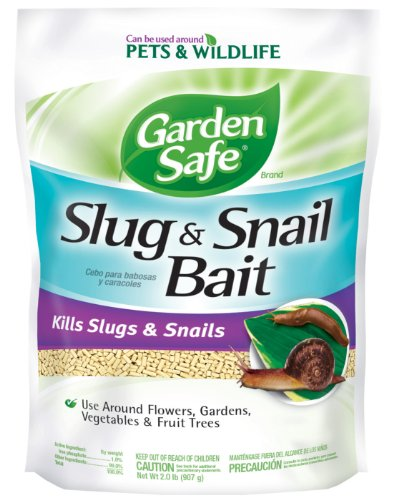 Garden Safe 4536 Slug & Snail Bait (HG-4536) (2 lb), Case Pack of 1 by Garden Safe