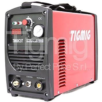Brand TIGMIG TM 60 CUT HF INVERSOR CORTE CORTE 16 MM ACCESORIOS COMPLETOS: Amazon.es: Electrónica