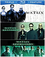 Matrix / Matrix Reloaded / Matrix Revolutions [Blu-ray] [Importado]