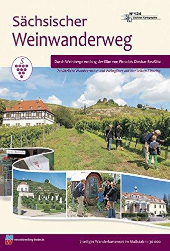 Wandertourenführer Sächsischer Weinwanderweg: