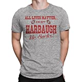 Rival Gear Ohio State Buckeyes Fan T-Shirt, All Lives Matter Except Harbaugh by (L)