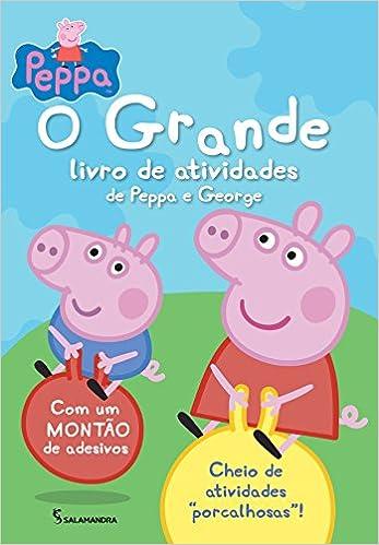 Peppa Pig O Grande Livro De Atividades Da Peppa E Em Portugues Do
