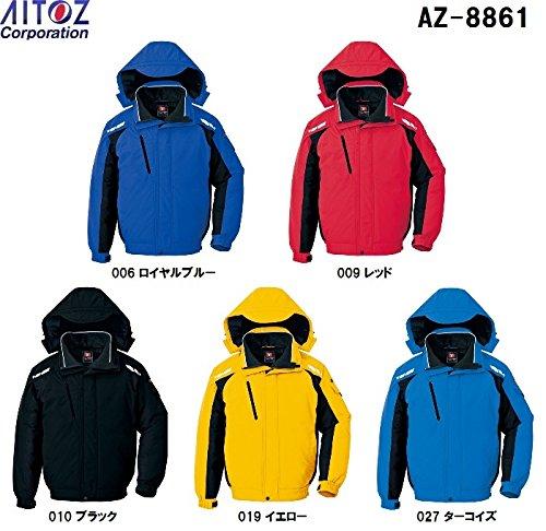 アイトス AZ-8861 防寒ブルゾン SS~5L コアブリッドW 防寒 作業服 B00SCCM56K LL|010:ブラック 010:ブラック LL