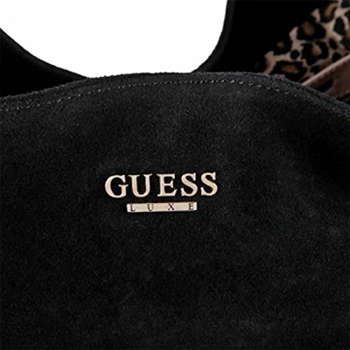 Guess luxe Black Celebes Hobo Fringe, 100% suede in pelle; 35 x 30 x 5 cm