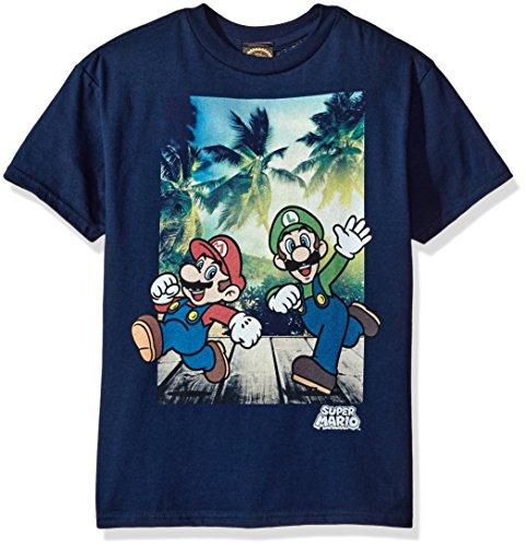 Nintendo Running Mario Graphic T shirt