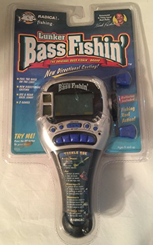 Lunker Bass Fishin' 1997 Electronic Game by Radica