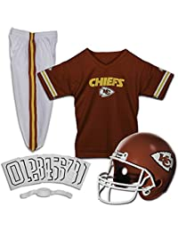 NFL Kids Football Uniform Set - NFL Youth Football Costume for Boys & Girls - Set Includes Helmet, Jersey & Pants