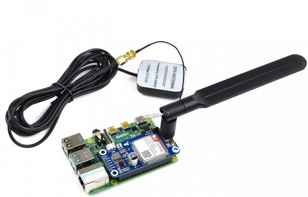 Zero W WH Jetson Nano 4G 3G 2G GSM GPRS GNSS HAT Based on SIM7600G-H LTE CAT4 150Mbps Wireless Communication Telephone Call SMS Positioning for Raspberry Pi 4 3 2 Model B B Global Version @XYGStudy