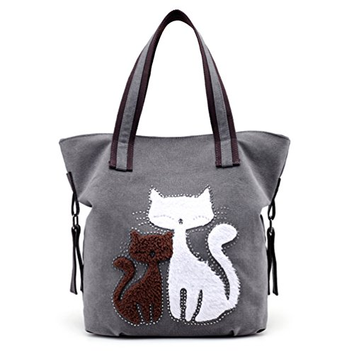 0b172ab16b52 We Analyzed 1,154 Reviews To Find THE BEST Cat Tote Bag Canvas