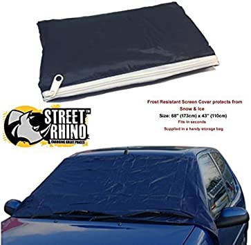Peugeot 307 Universal Anti Frost Snow Ice Wind Screen Protector Cover