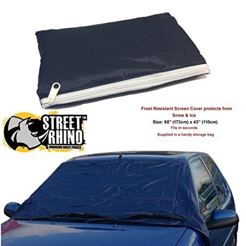 Toyota Yaris Universal Anti Frost Snow Ice Wind Screen Protector Cover Street Rhino