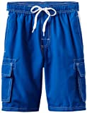 Kanu Surf Big Boys' Barracuda Swim Trunk, Royal, Large (14/16)