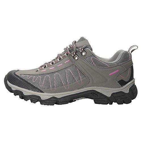 Mountain Warehouse Skyline Womens Walking Shoes - Ladies Hiking Boots Grey 7 M US - Warehouse Hiking