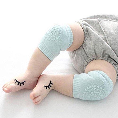 Voberry Baby Crawling Anti-Slip Knee Compression Sleeve Unisex Kneecap