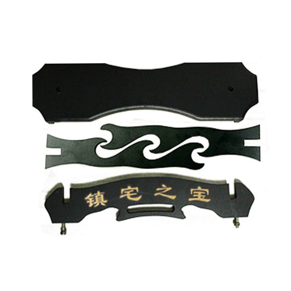 SOFIALXC Porte-/ép/ée Porte-/ép/ée Samurai Support pour Porte-/ép/ée pour Japonais Katana Wakizashi Tanto,Black,1floor