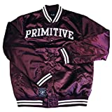 Primitive Apparel Rival Satin Jacket Burgundy