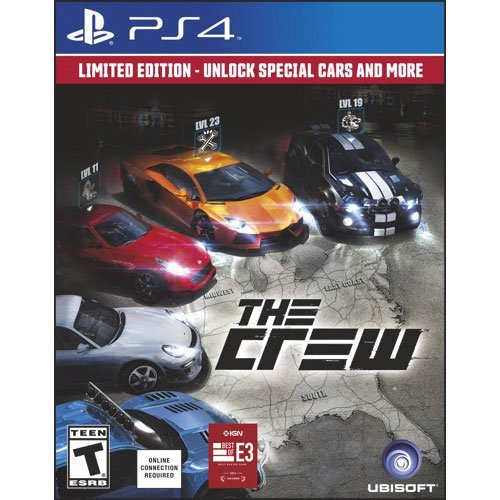 The Crew Limited Edition Ps4 by Ubisoft -  UBI Soft, 892483