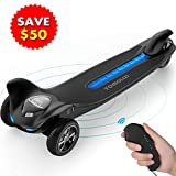 TOMOLOO Hoverboard with Bluetooth Speaker LED Lights Hoverboards Two-Wheel Self Balancing Scooter UL2272 Certified 6.5' Wheel Electric Scooter for Kids and Adult