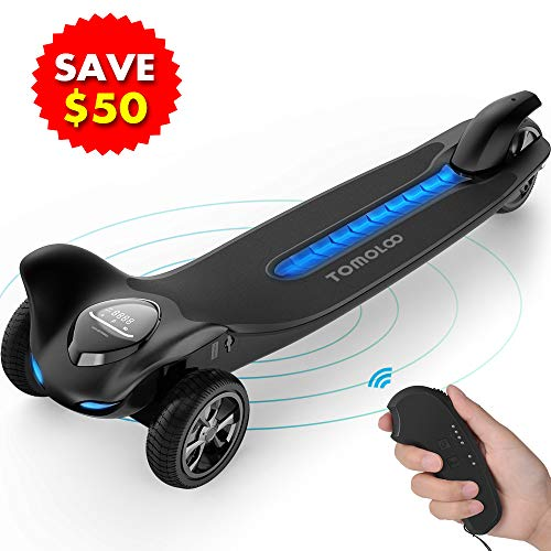 TOMOLOO Hoverboard with Bluetooth Speaker, UL2272 Certified Self Balancing Electric Scooter, 6.5'...