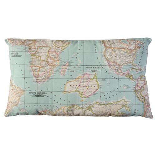 Funda cojin Mapa - mapa mundo - funda cojin sofa - funda ...