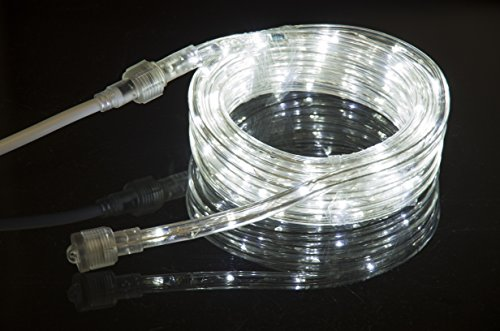 cool white led flexible rope light kit for indoor outdoor lighting home garden patio shop. Black Bedroom Furniture Sets. Home Design Ideas