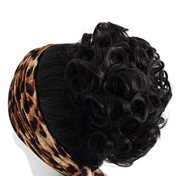 Amazon Com Uniwigs Synthetic Clip Ponytail Short Curly Style Y 2