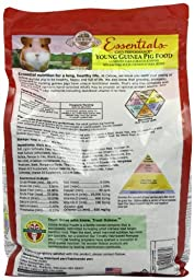 Oxbow Animal Health Cavy Performance Young Guinea Pig Animal Feeds, 10-Pound