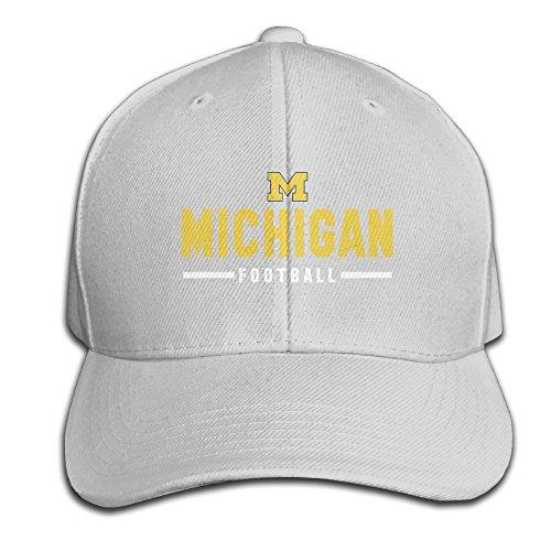 Michigan Wolverines Team Wordmark Cool Logo Vintage Snapbacks (Michigan Wolverines Mike)