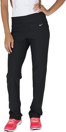 Nike Womens Dri Fit Tight Fit Classic Training Leggings Black (Medium)