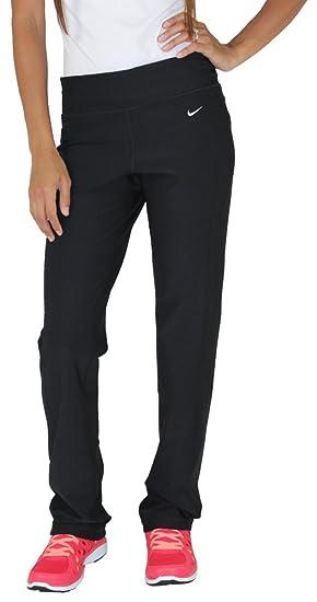 Yoga 010 Fit Nike Slim Pantalones Mujer Formación Para 472351 Negro 0wN8nOPXk