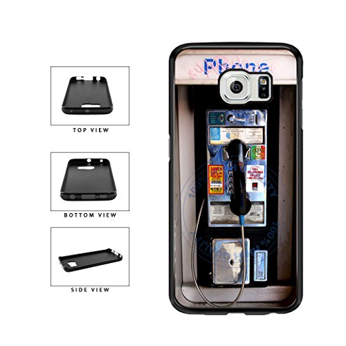 - BleuReign(TM) Old School Payphone TPU RUBBER SILICONE Phone Case Back Cover For Samsung Galaxy S7 Edge