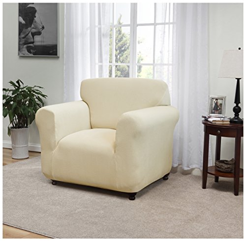 Madison DAY-CHAIR-CR Kathy Ireland Day Break Chair Slipcover,Cream by Madison (Image #2)