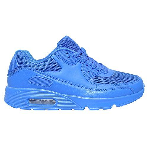 Sneaker Loisirs Chaussures Bleu de de Gr Course Fitness Chaussures Femme sport Bleu Neon Turn 36–41 wYqCCF