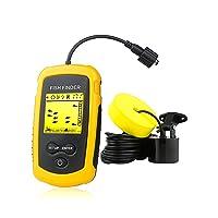 Venterior VT-FF001 Portable Fish Finder,  Handheld Fishfinder Fish Depth Finder...