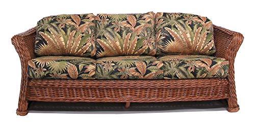 (Fruitwood Sahara Rattan Sofa)