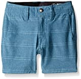 Volcom Boys' Little Boys' SNT Mix Hybrid Short, Vintage Blue, 5