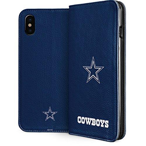 Cowboys Dallas Nfl Case (Dallas Cowboys iPhone X Case - Dallas Cowboys Distressed | NFL & Skinit Folio Case)