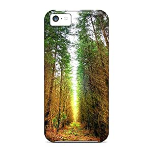 New Iphone 5c Cases Covers Casing(forest) Black Friday