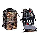 Camouflage Camera Backpack, Multifunctional Large Capacity SLR Camera Bag Suitable For Tripod Lenses And Laptops (3 sizes) 8112