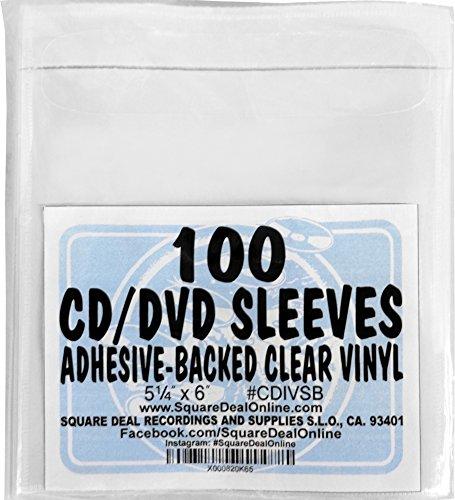 - SquareDealOnline - CDIVSB - CD Sleeves - 5.25