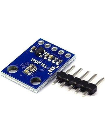 1 sensor de luminosidad GY-2561 TSL2561, módulo de sensor de luz infrarroja,